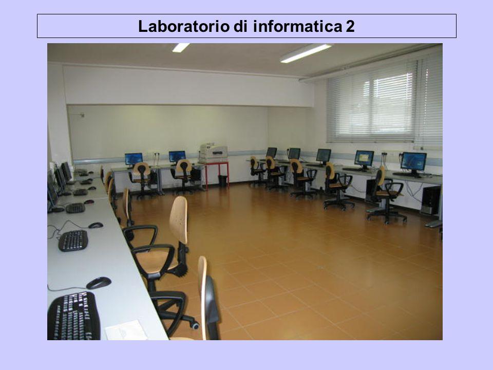 Laboratorio di informatica 2
