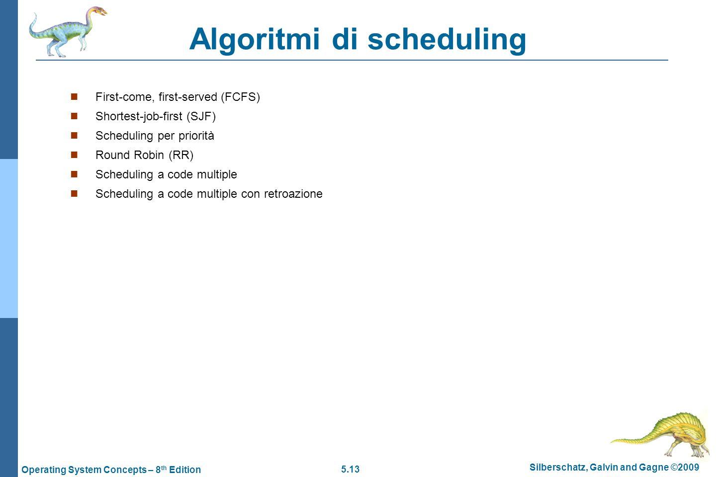 Algoritmi di scheduling