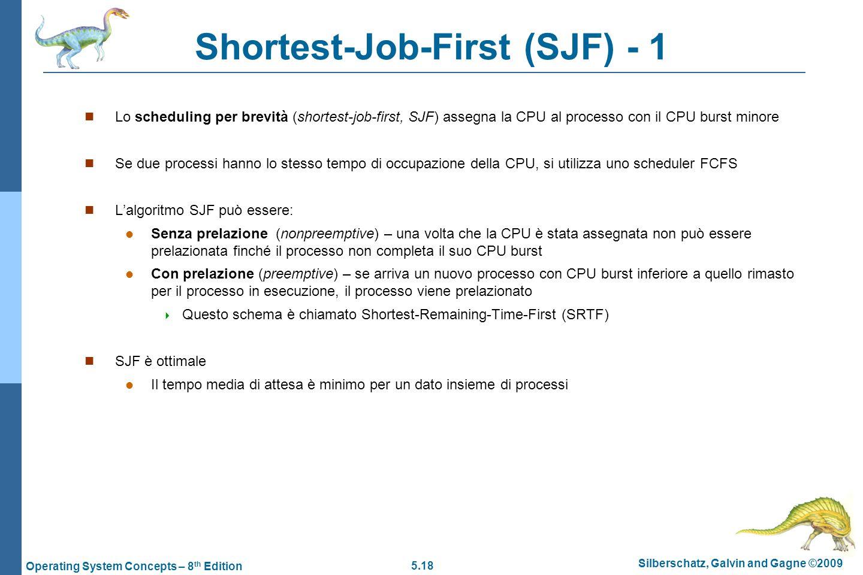Shortest-Job-First (SJF) - 1
