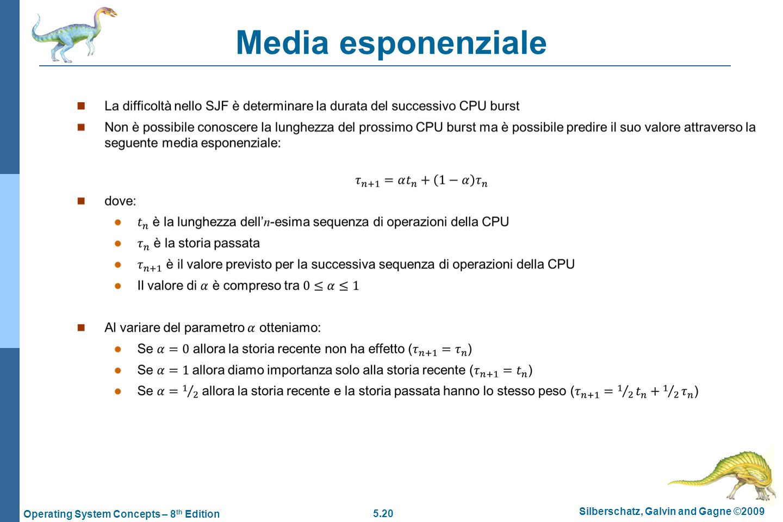 Media esponenziale