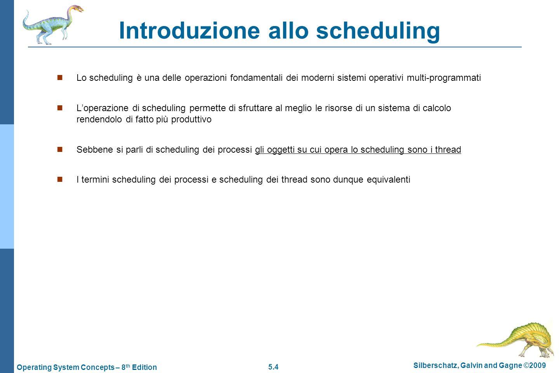 Introduzione allo scheduling