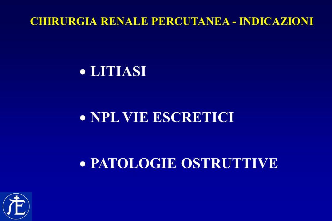 LITIASI NPL VIE ESCRETICI PATOLOGIE OSTRUTTIVE