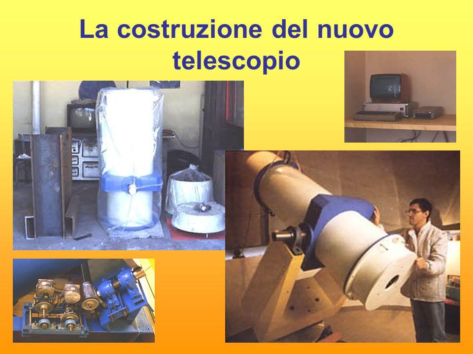 La costruzione del nuovo telescopio