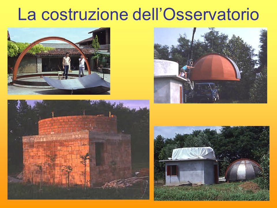 La costruzione dell'Osservatorio