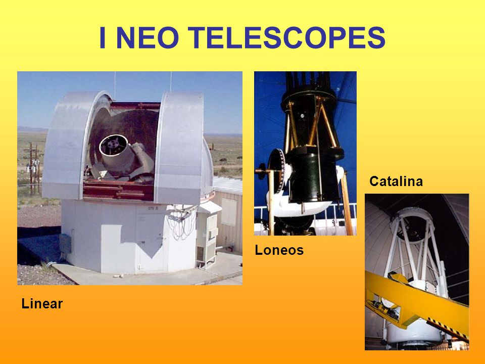 I NEO TELESCOPES Catalina Loneos Linear