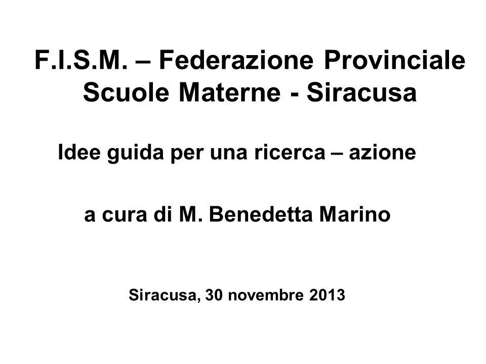 F.I.S.M. – Federazione Provinciale Scuole Materne - Siracusa