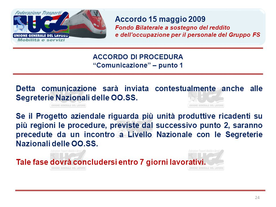 Comunicazione – punto 1
