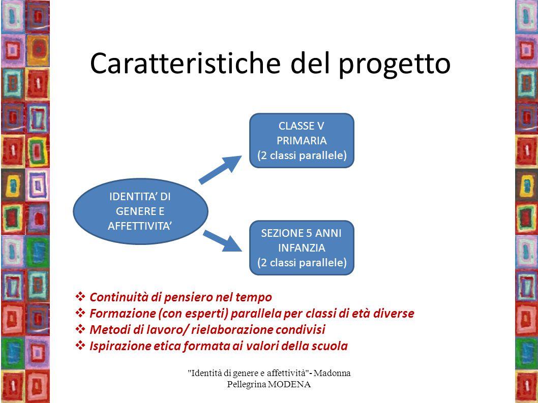 Caratteristiche del progetto