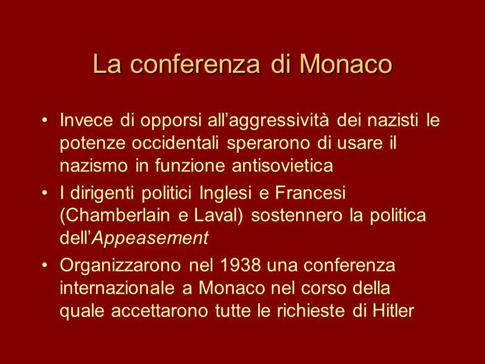 La conferenza di Monaco