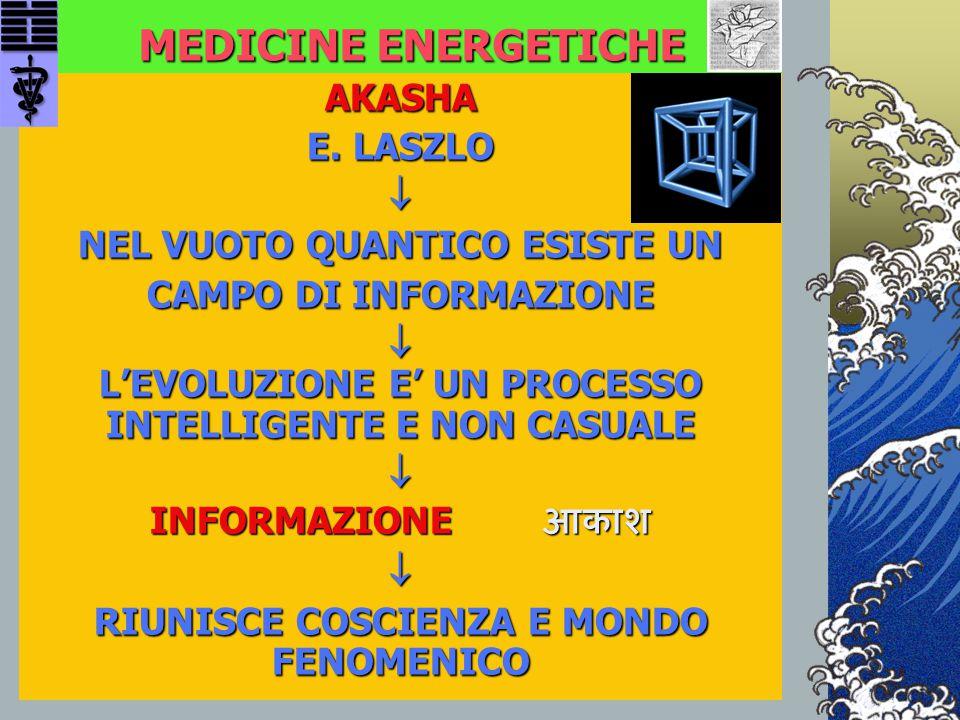 MEDICINE ENERGETICHE AKASHA E. LASZLO  NEL VUOTO QUANTICO ESISTE UN