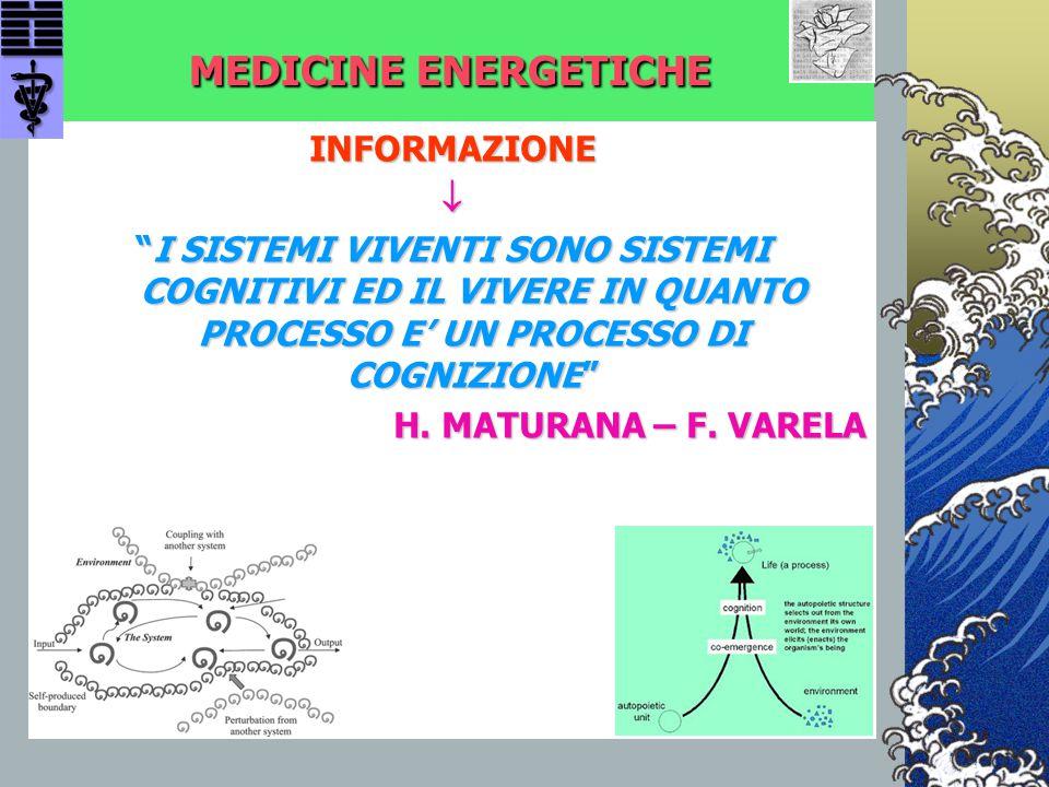 MEDICINE ENERGETICHE INFORMAZIONE 
