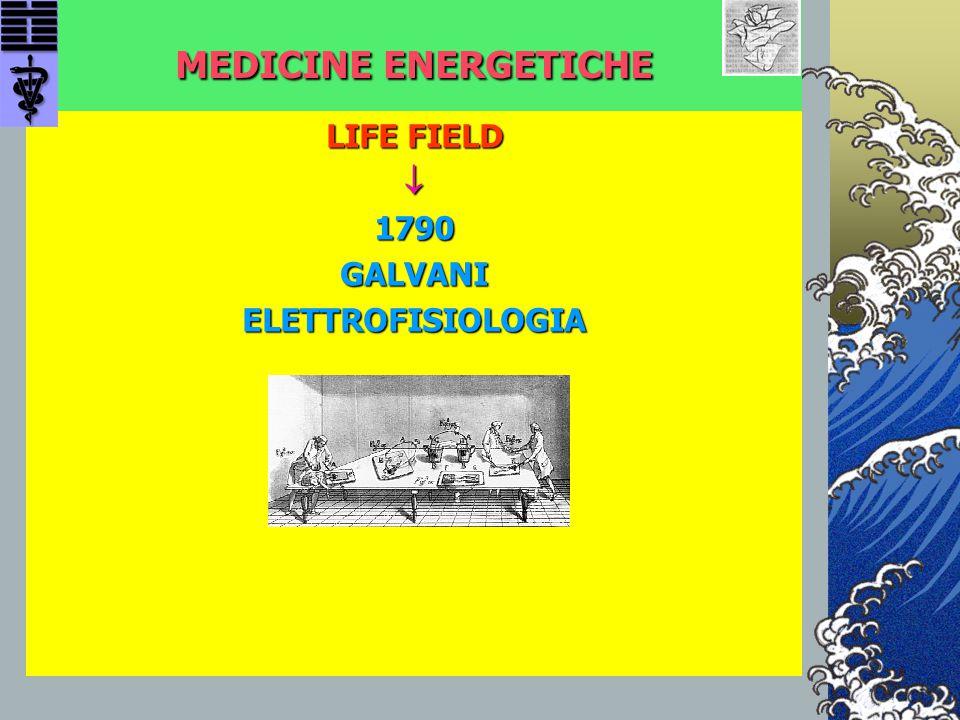 MEDICINE ENERGETICHE LIFE FIELD  1790 GALVANI ELETTROFISIOLOGIA