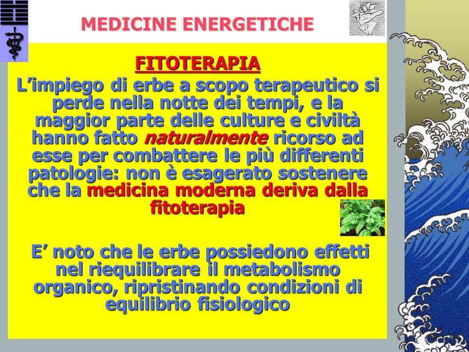 MEDICINE ENERGETICHE FITOTERAPIA.