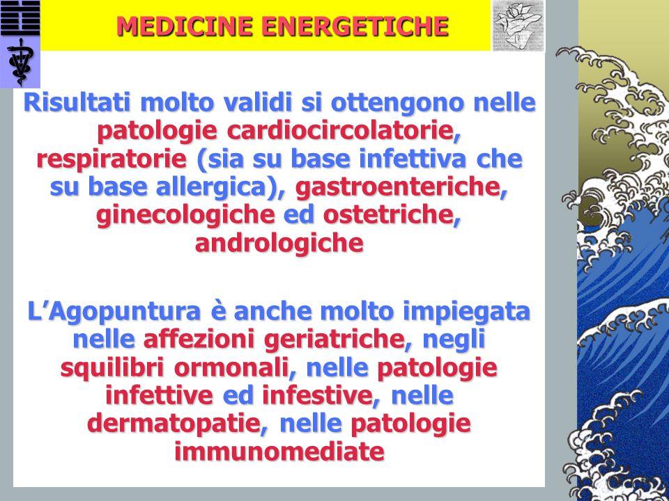 MEDICINE ENERGETICHE