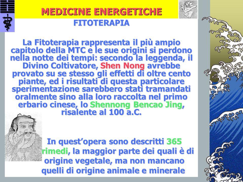 MEDICINE ENERGETICHE FITOTERAPIA