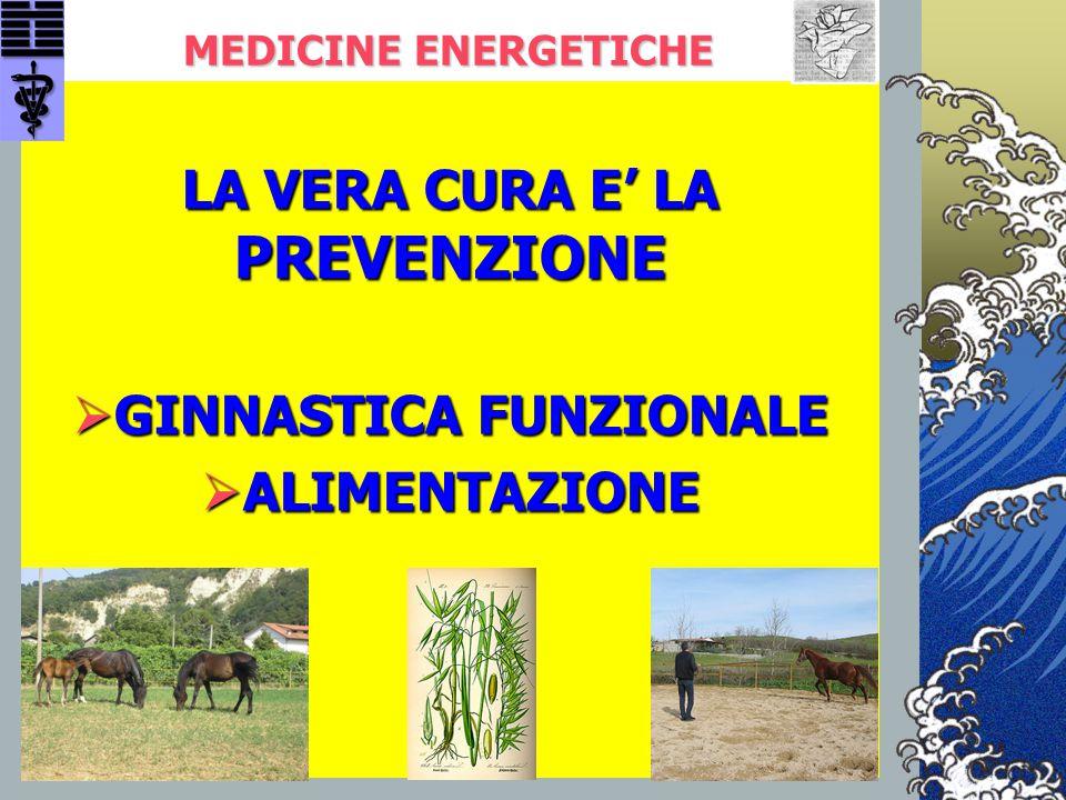 LA VERA CURA E' LA PREVENZIONE GINNASTICA FUNZIONALE ALIMENTAZIONE