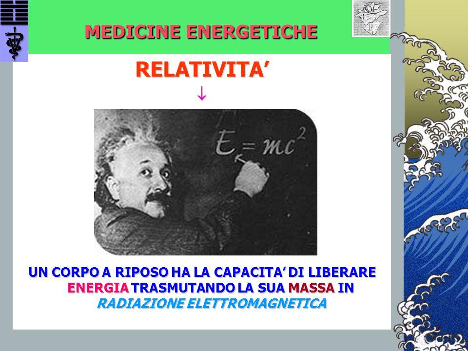 RELATIVITA' MEDICINE ENERGETICHE 