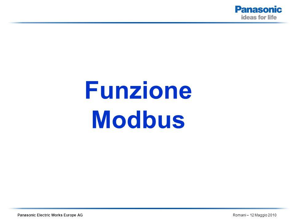 Funzione Modbus