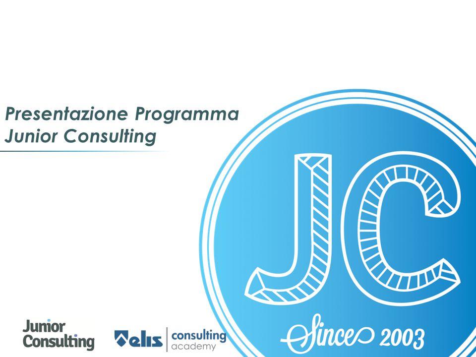 Presentazione Programma Junior Consulting