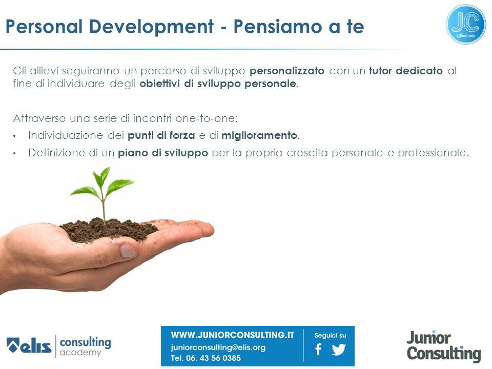 Personal Development - Pensiamo a te