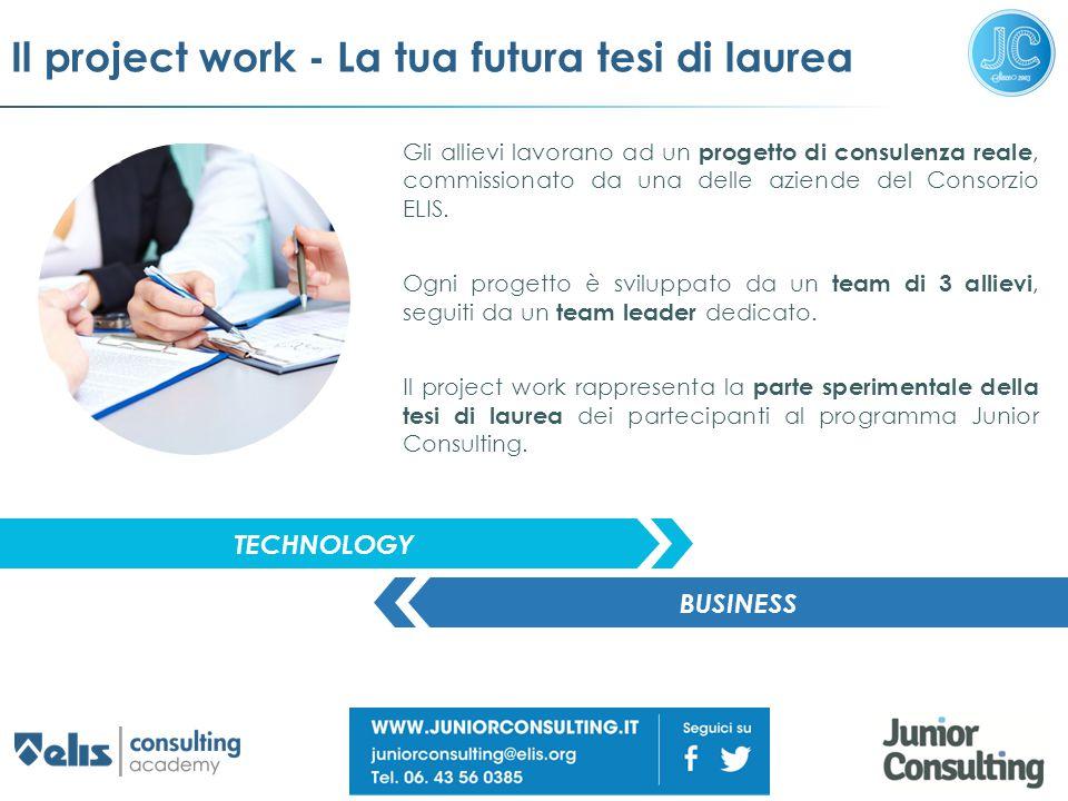 Il project work - La tua futura tesi di laurea