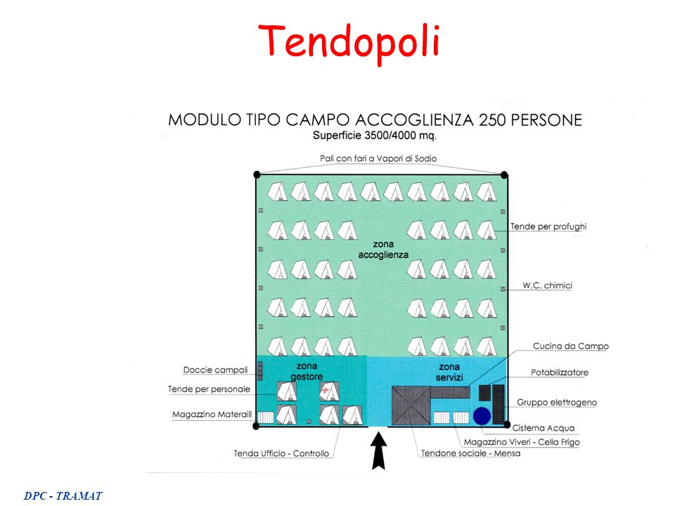 Tendopoli DPC - TRAMAT