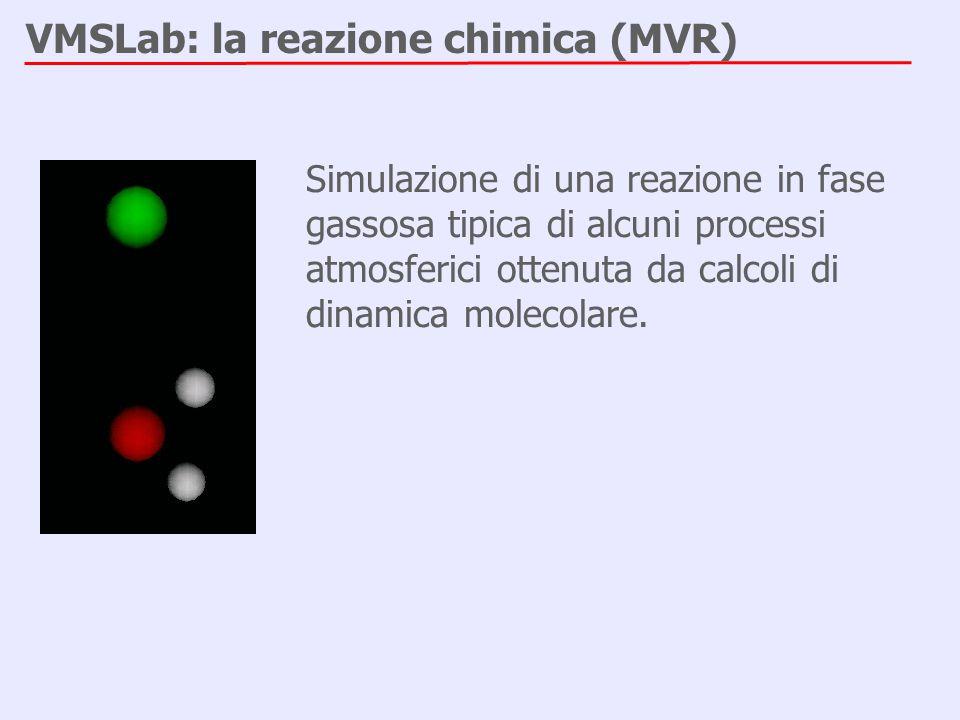 VMSLab: la reazione chimica (MVR)