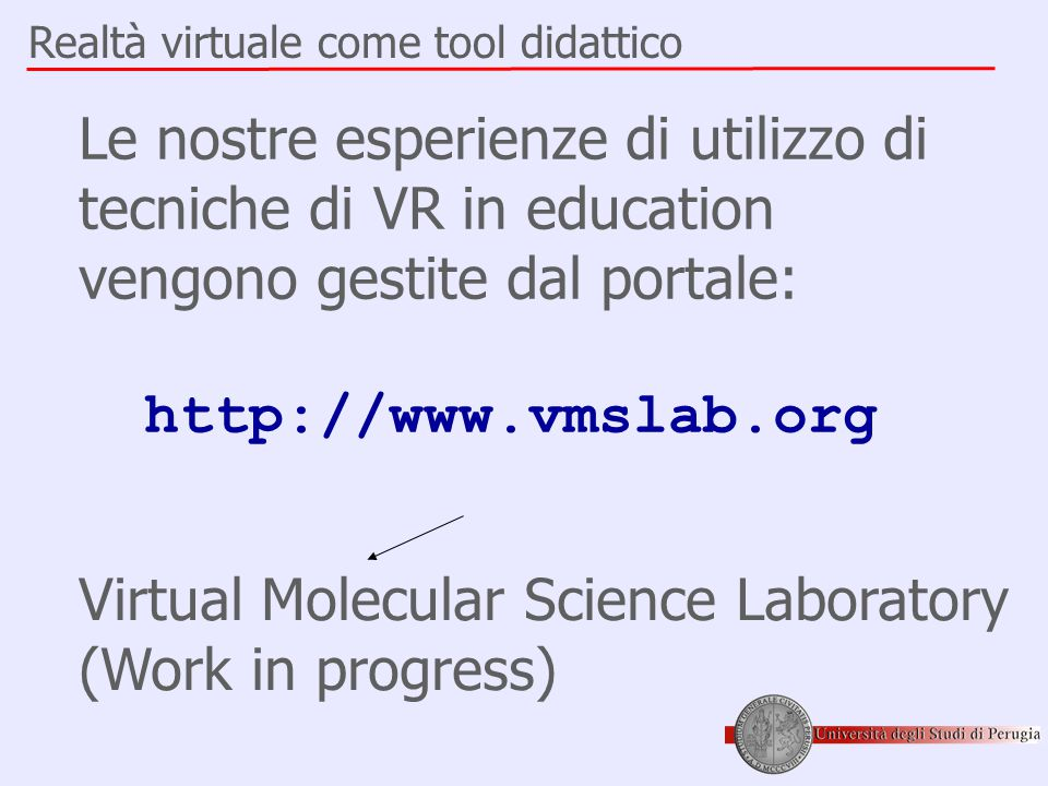 Virtual Molecular Science Laboratory (Work in progress)