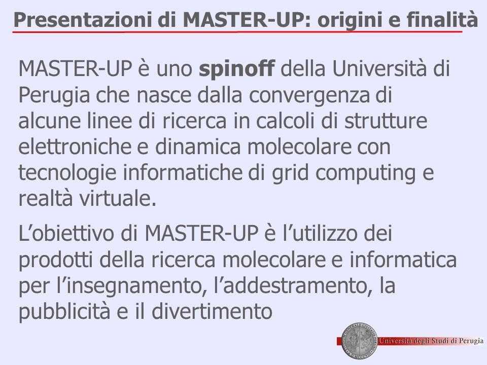 Presentazioni di MASTER-UP: origini e finalità