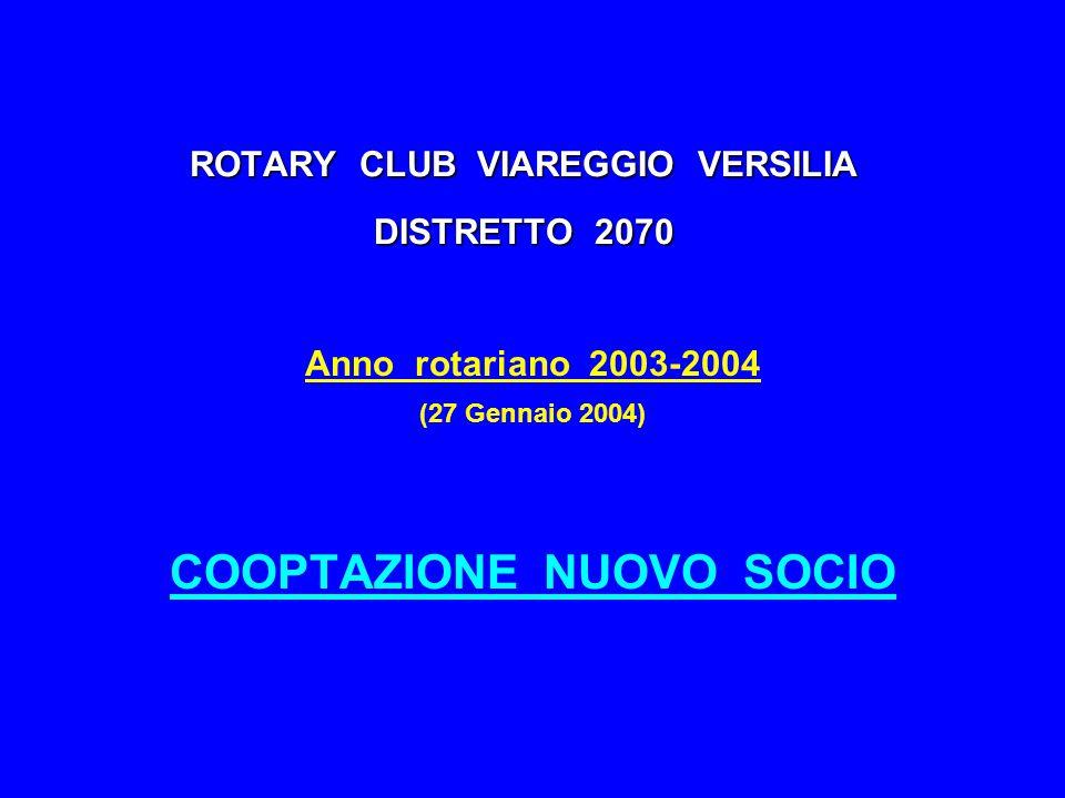 ROTARY CLUB VIAREGGIO VERSILIA DISTRETTO 2070
