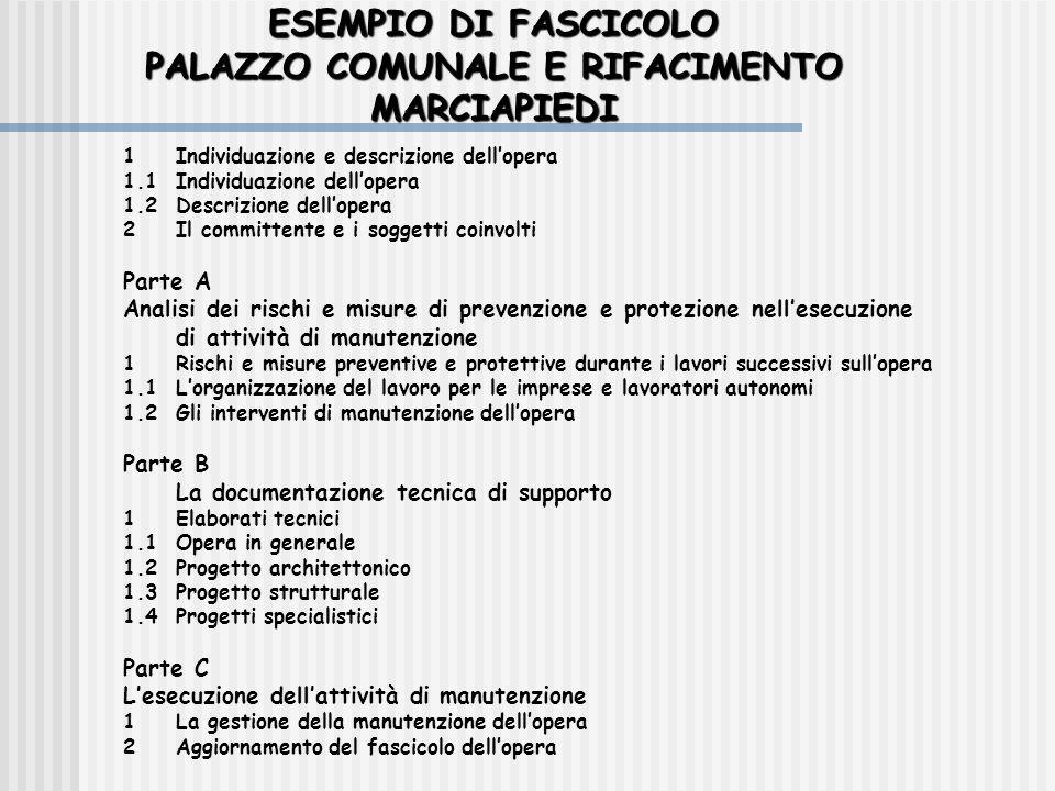 PALAZZO COMUNALE E RIFACIMENTO MARCIAPIEDI