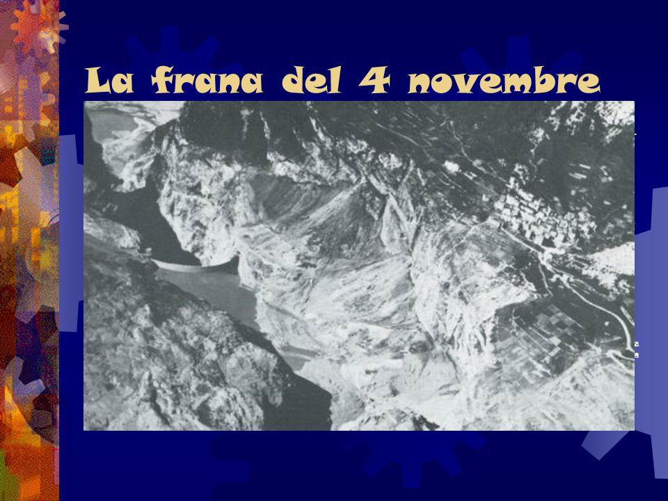 La frana del 4 novembre