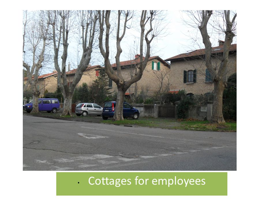 Cottages for employees