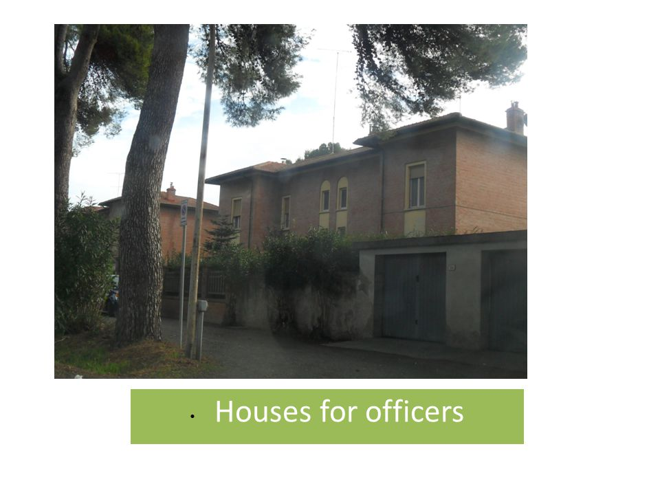 Houses for officers