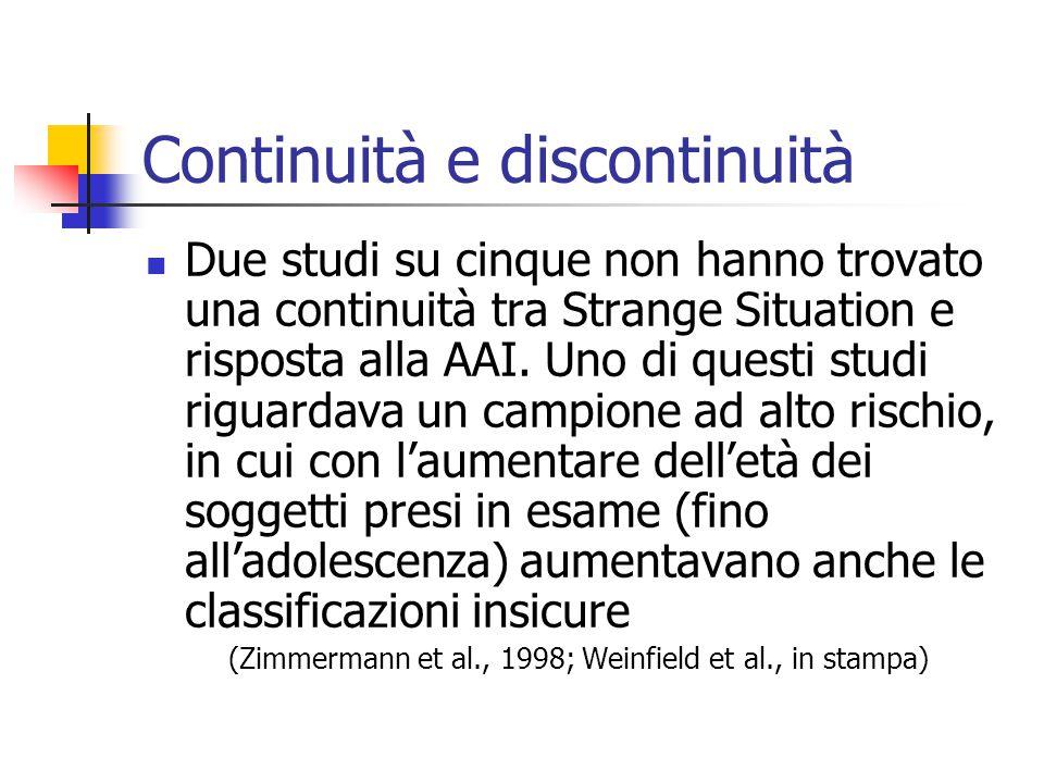 Continuità e discontinuità
