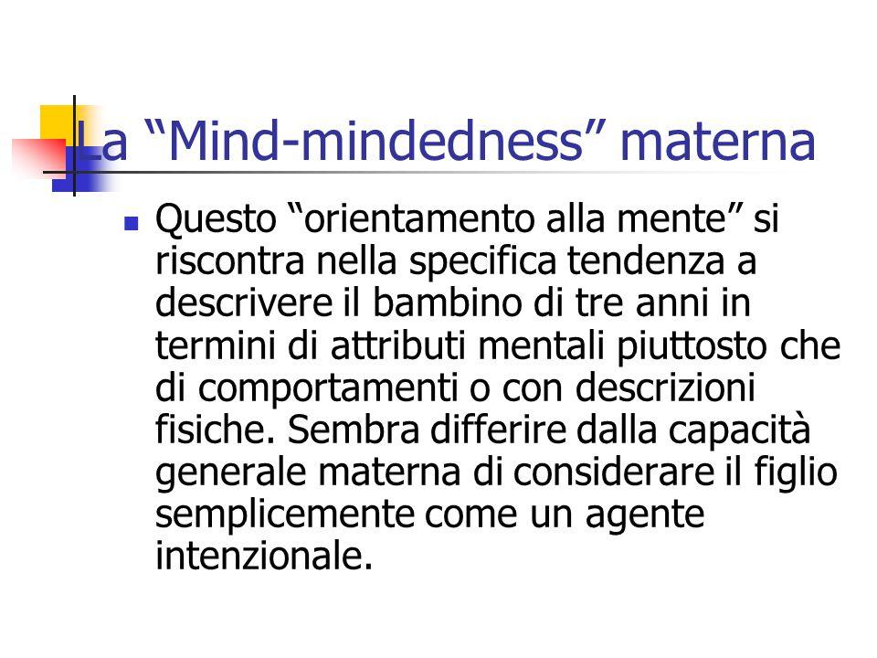 La Mind-mindedness materna