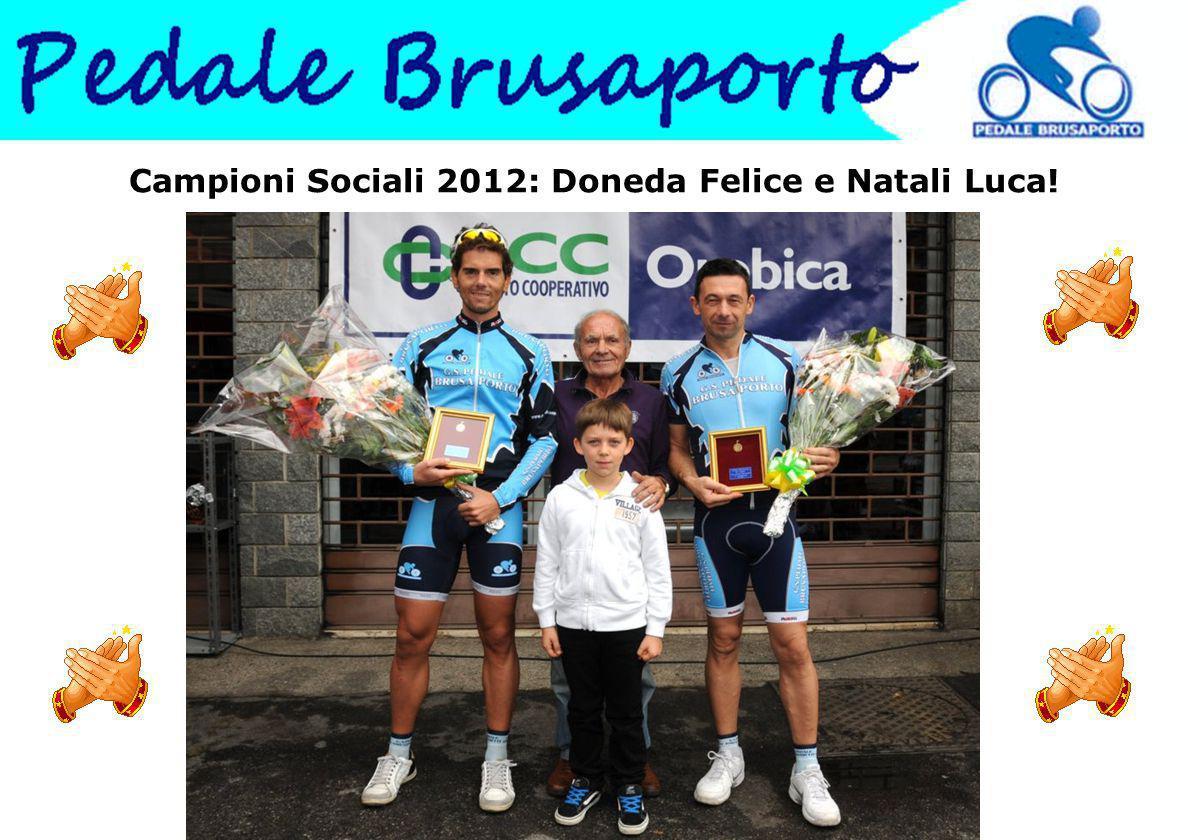 Campioni Sociali 2012: Doneda Felice e Natali Luca!