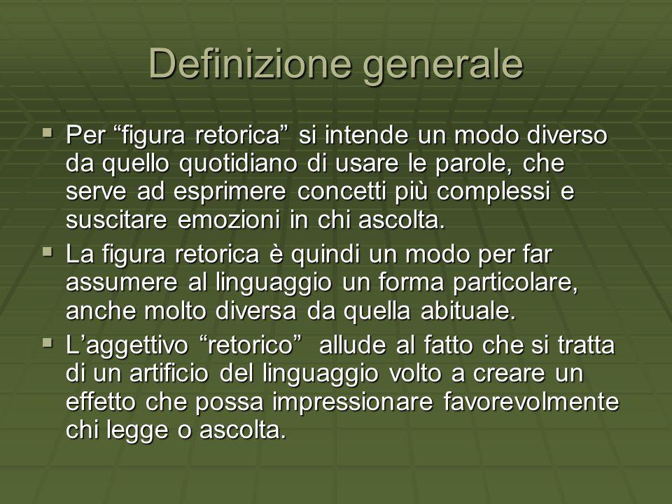 Definizione generale