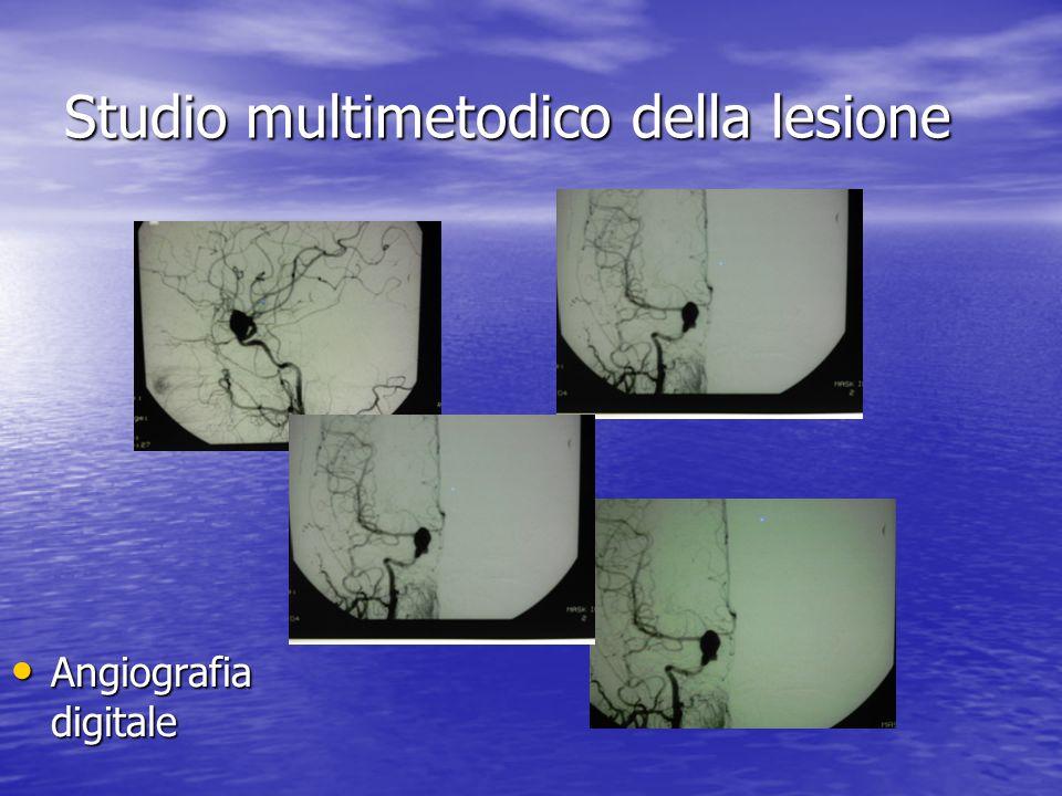 Studio multimetodico della lesione