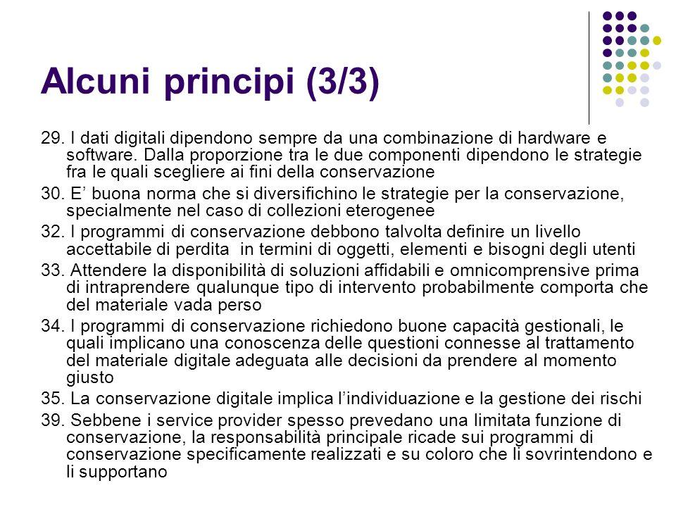 Alcuni principi (3/3)