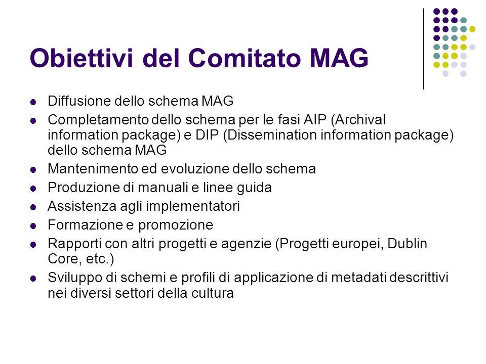 Obiettivi del Comitato MAG