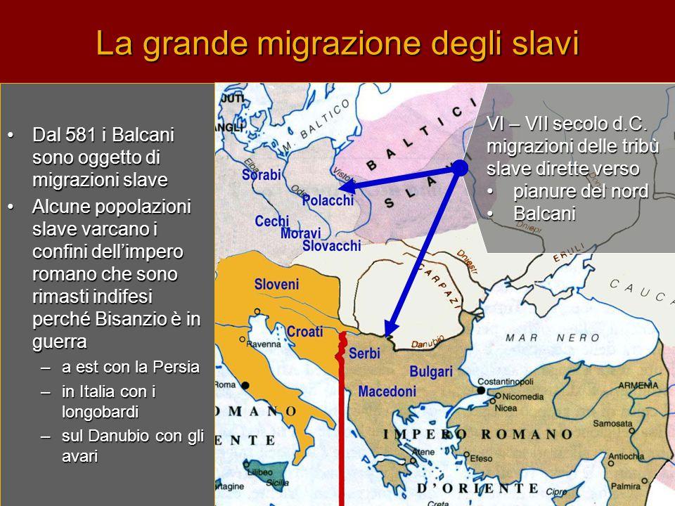La grande migrazione degli slavi