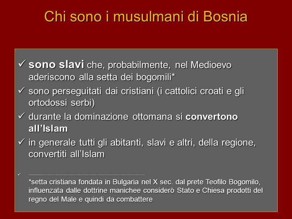 Chi sono i musulmani di Bosnia