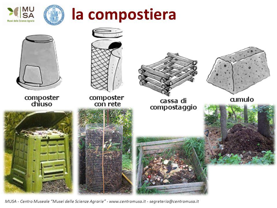 la compostiera MUSA - Centro Museale Musei delle Scienze Agrarie - www.centromusa.it - segreteria@centromusa.it.