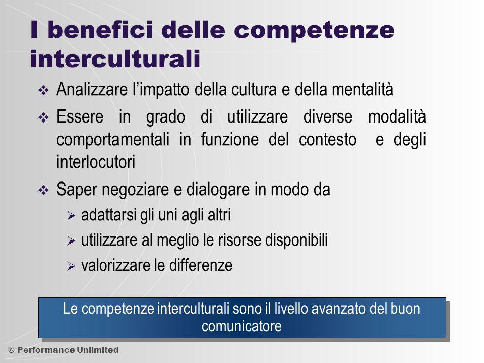 I benefici delle competenze interculturali