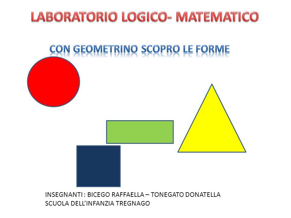 LABORATORIO LOGICO- MATEMATICO CON GEOMETRINO SCOPRO LE FORME