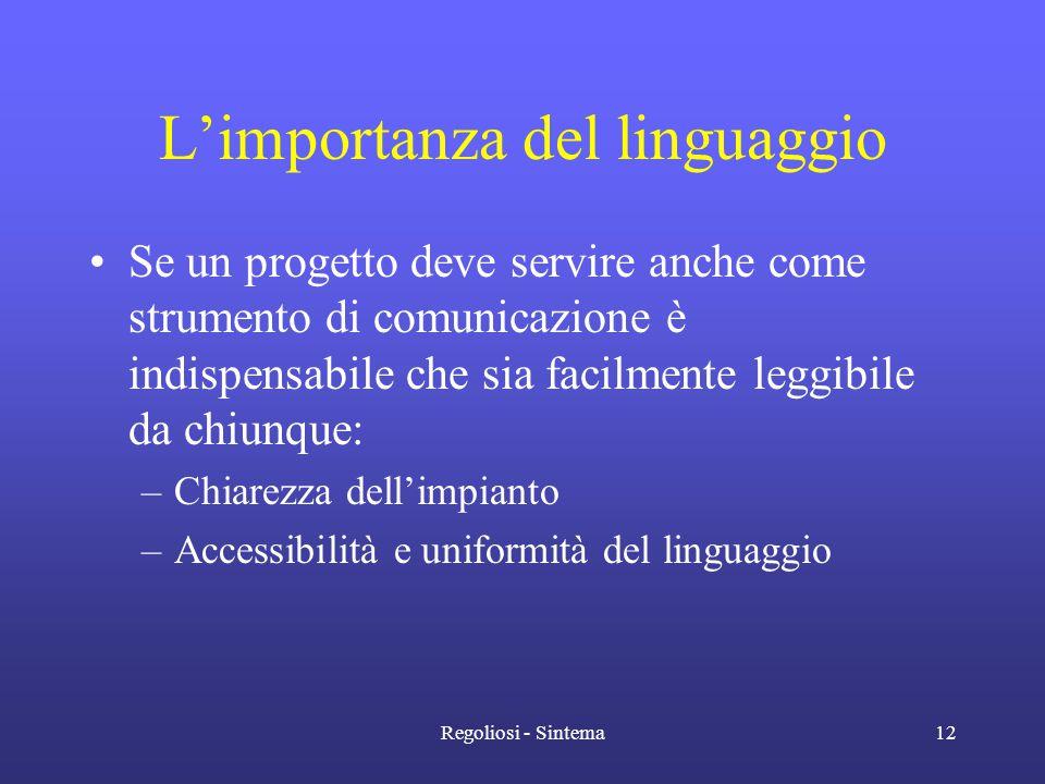 L'importanza del linguaggio
