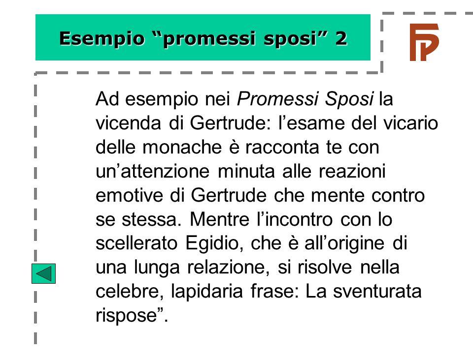 Esempio promessi sposi 2