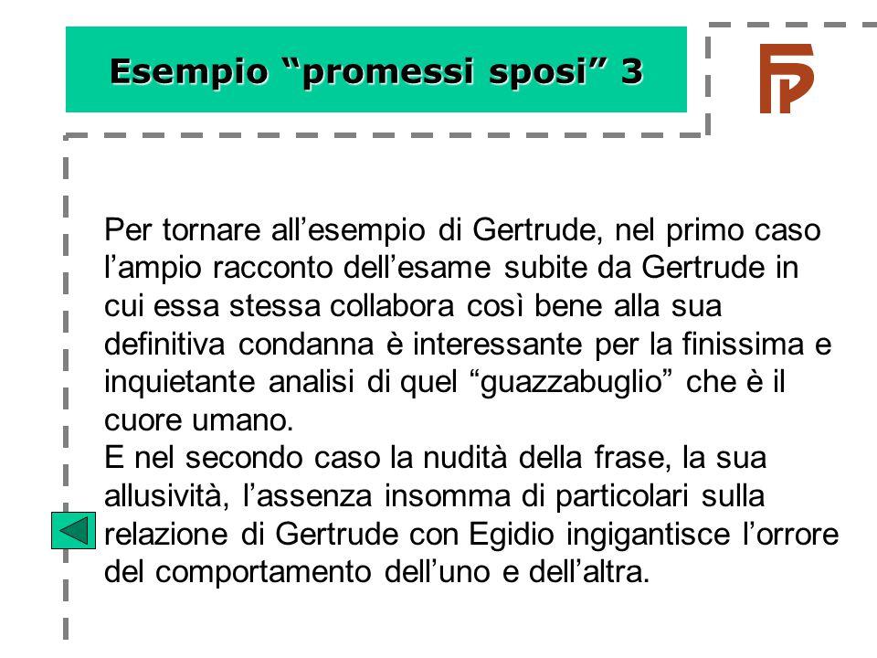 Esempio promessi sposi 3
