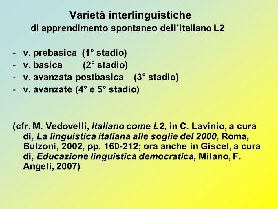 Varietà interlinguistiche
